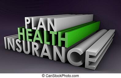 assicurazione sanitaria, piano