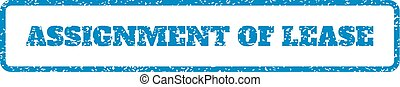 Assignment Of Lease Rubber Stamp