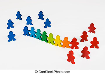 Assimilation or social change - Social and Business concepts...