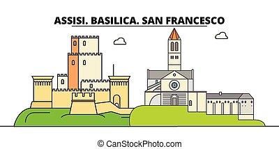 Assisi. Basilica. San Francesco - Other Franciscan Sites...