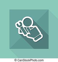 assistência, ícone