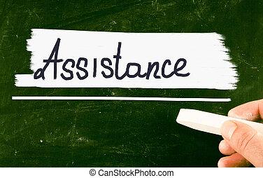 assistance, concept