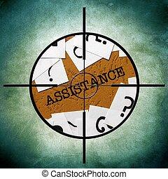 Assistance target