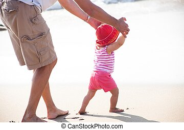A toddler is a young child who is of the age of learning to walk