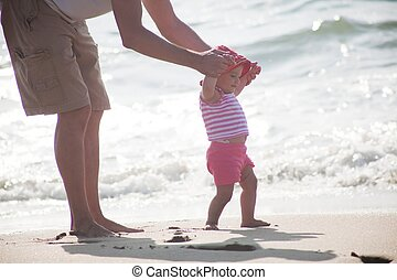 Assisted walking - A toddler is a young child who is of the...