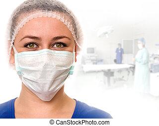 assistent, medisch