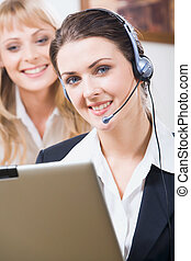 assistenza clienti, operatore