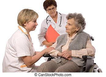 assistenza sanitaria, lavorante