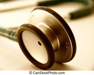 assistenza sanitaria, -, stetoscopio
