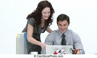 associés affaires, travailler ensemble