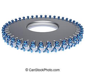 association, business, processus, dur, métier, collaboration, travail équipe