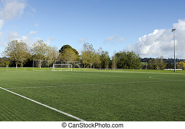 Association football pitch