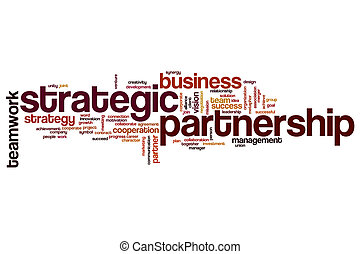 association, mot, nuage, stratégique