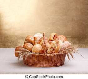 Assorted bakery products - Lots of assorted bakery products...