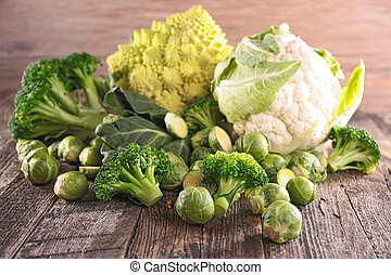 assorted cabbage