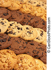 Assorted cookies