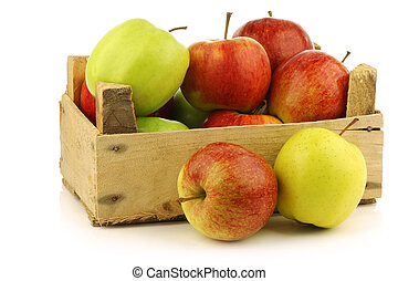 assorted fresh apples