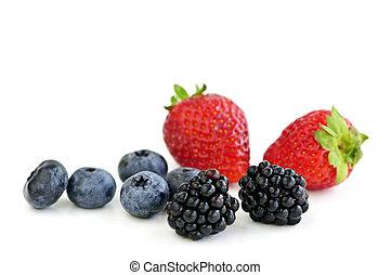 Assorted fresh berries
