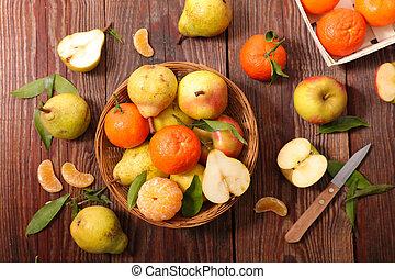 assorted fresh fruit