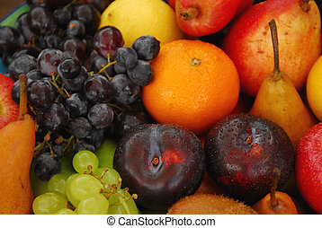 Assorted fresh fruit