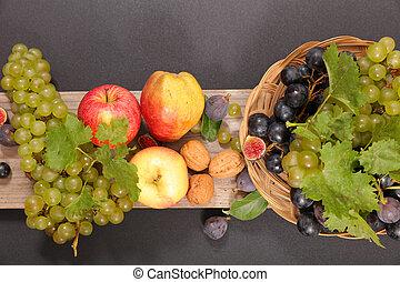 assorted fresh fruits