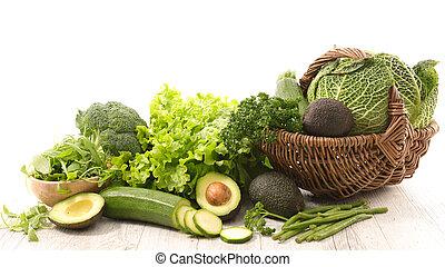 assorted fresh vegetable