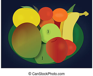 Assorted Fruit Bowl