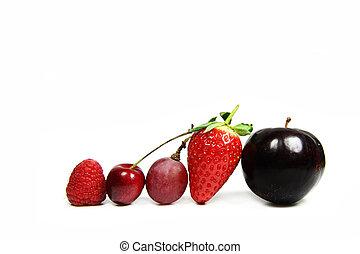 assorted fruit line
