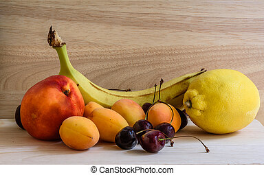 assorted fruits for healthy breakfast