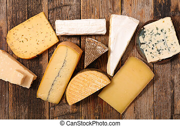 assorted of dairy product