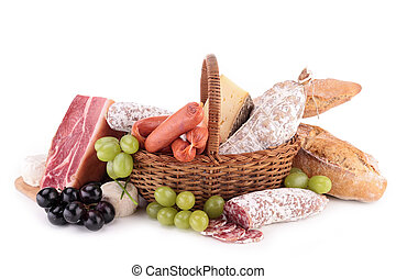 assorted of meat