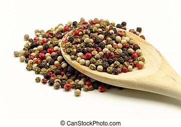 peppercorns - Assorted peppercorns