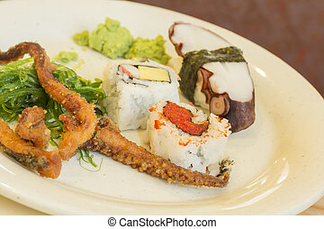 Assorted Seafood Plate