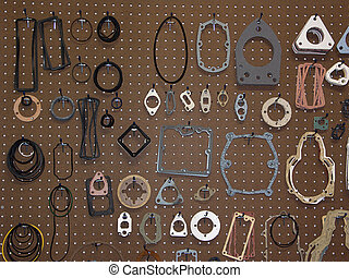 Assorted Size Rings and Gaskets - Assorted sizes of rings ...