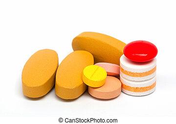 assorti, pilules