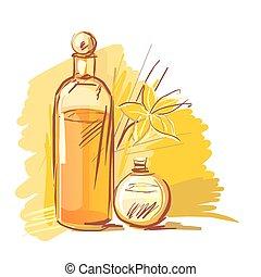 assortiment, aromatherapy