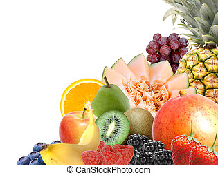 assortito, frutta