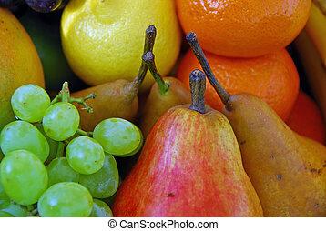 assortito, frutta fresca