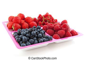 assortment fresh fruit