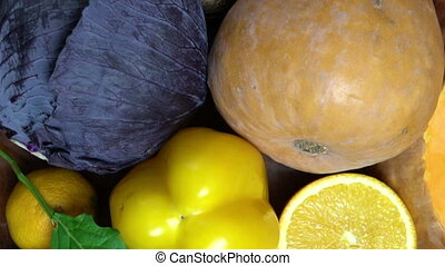 Assortment from vegatables