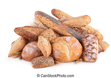 assortment of bread