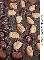 assortment of chocolates