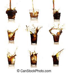 Assortment Of Cola Drinks