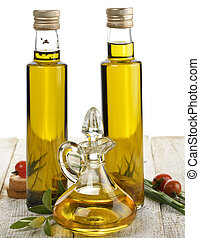 Cooking Oil - Assortment Of Cooking Oil With Spices