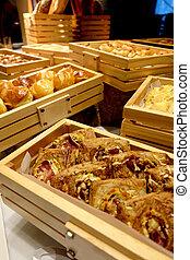 Assortment of fresh bread