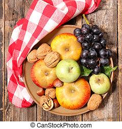 assortment of fresh fruit
