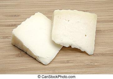 goat cheese - Assortment of fresh goat cheese