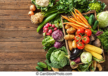 Assortment of  fresh vegetables