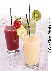 assortment of fruit cocktail