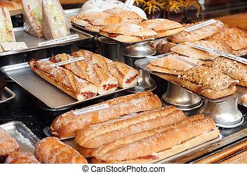 Spanich sandwich - bocadillo - assortment of Spanich...